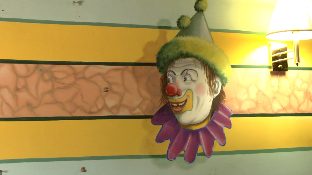 Clown on the Wall