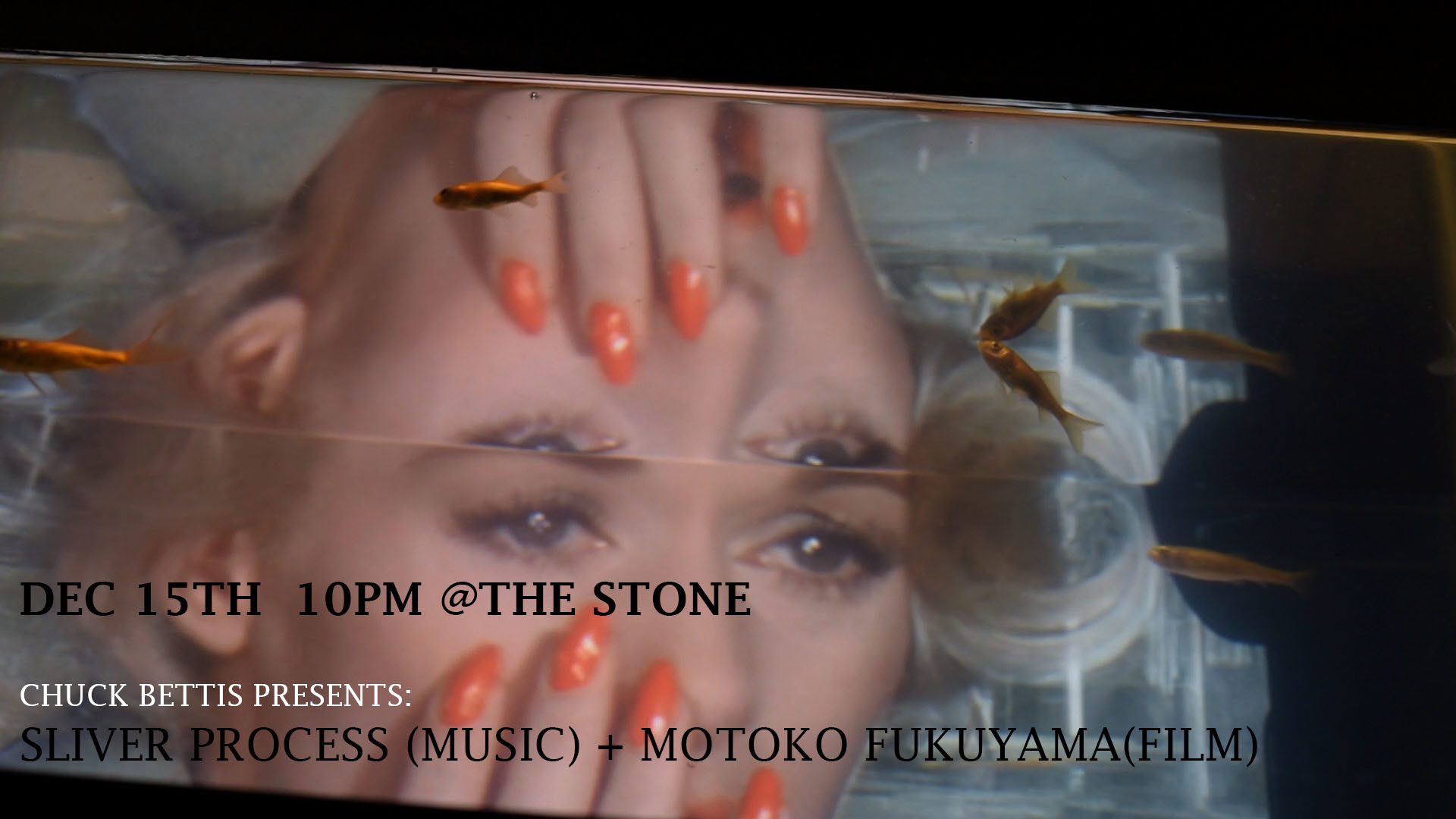 Motoko Fukuyama (film) + Silver Process (live soundtrack) at The Stone